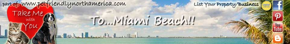 miami beach pet friendly